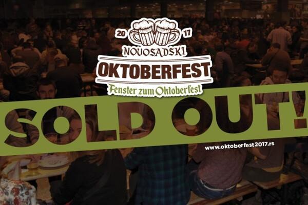 "Prodate sve večernje ulaznice za ""Novosadski Oktoberfest"", ostalo nešto mesta za sedenje"