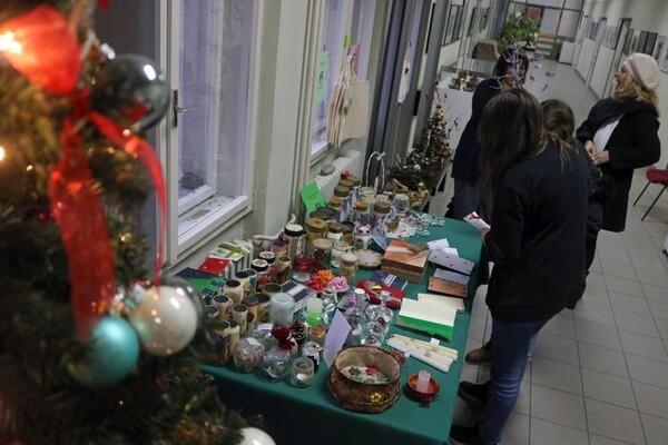 FOTO: Novosadski gimnazijalci kreativnošću pomažu oboleloj deci