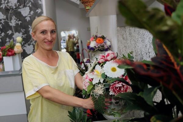 NOVOSAĐANI: Cvećarka Tea iz ulice Cara Dušana