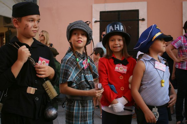 FOTO: Kreativnost novosadskih mališana na 16. letnjem maskenbalu