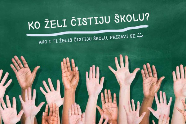 POZIV ĐACIMA: Uključite se Fejsbuk foto-akciju za čistije škole u Vojvodini