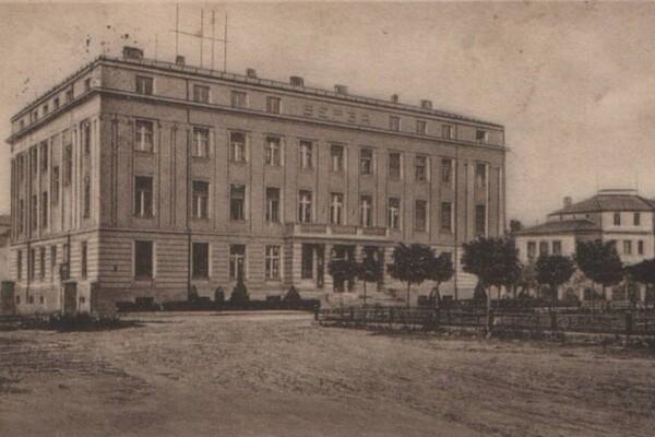 Produktna berza i zgrada berze u Novom Sadu