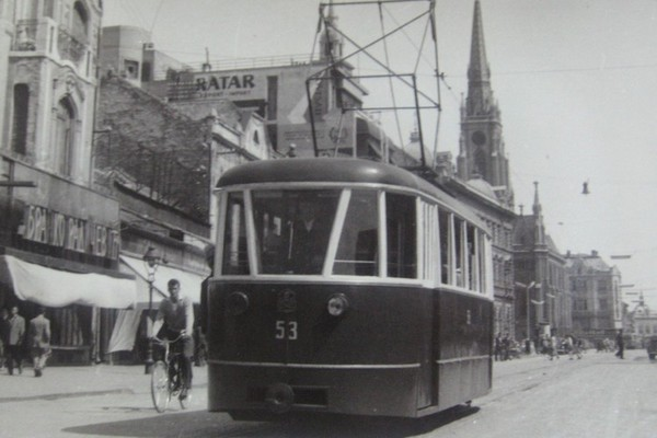 Prvi novosadski skretničar tramvaja