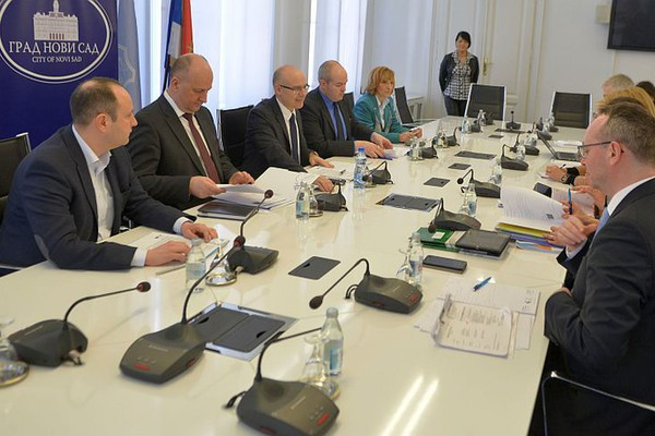 FOTO: Gradonačelnik se sastao s predstavnicima Kongresa lokalnih i regionalnih nivoa vlasti Saveta Evrope