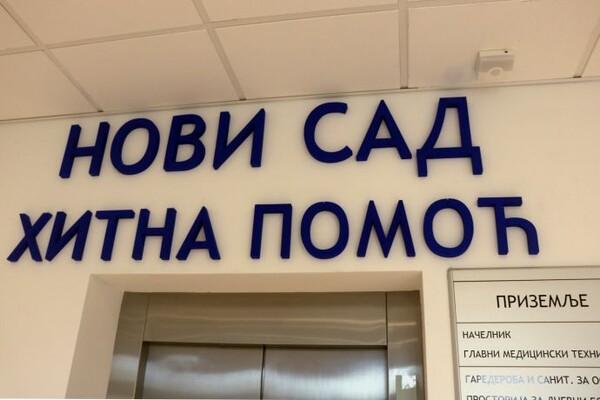 Muškarac povređen u eksploziji plinske boce u Novom Sadu