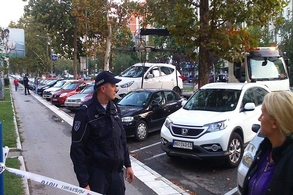 FOTO: Uhapšen maskirani pljačkaš Erste banke na Novom naselju