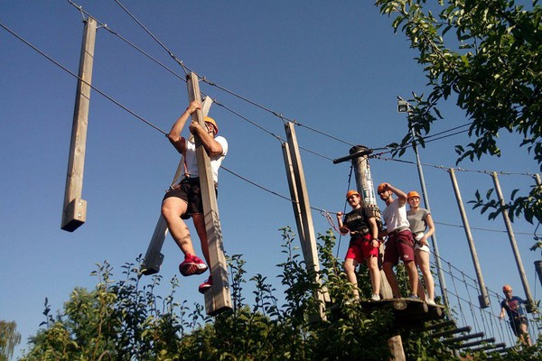 "U poseti Adrenalin parku ""Zemlja čuda"" (FOTO i VIDEO)"