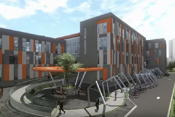 Počinje izgradnja muzičko-baletske škole na Limanu III (VIDEO)