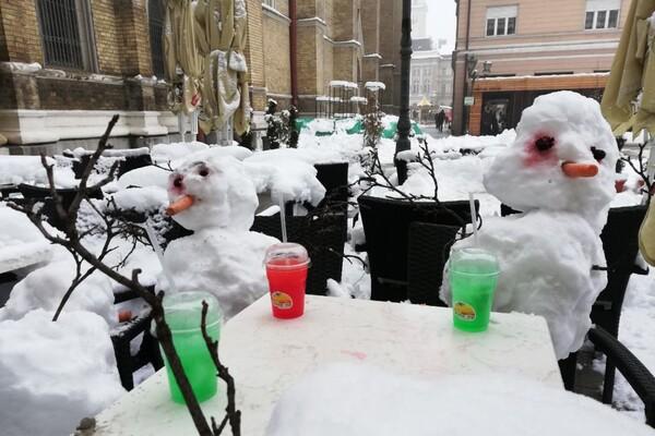RHMZ upozorava na nove snežne padavine, od petka uveče razvedravanje