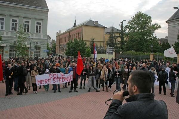 """PROTESTI: Razdor unutar pokreta """"Protiv diktature"""""""