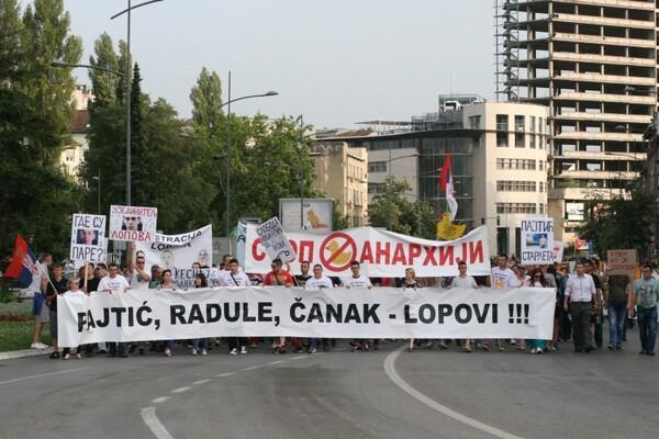 """Dosta je bilo"": Skup ""Stop anarhiji"" finansiran iz budžeta grada"