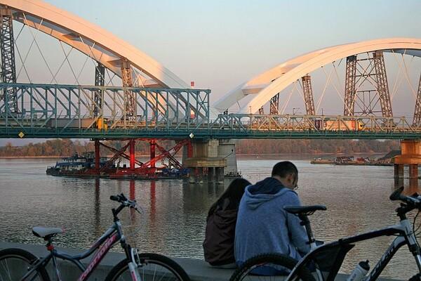 Konstrukcija montažno-demontažnog mosta seli se na Ranžirnu stanicu