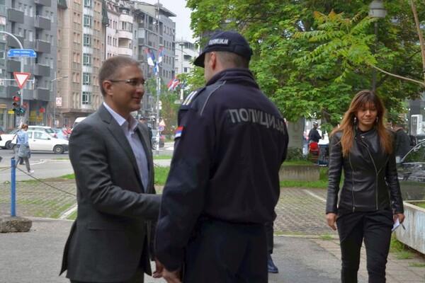 FOTO: Nebojša Stefanović obišao Policijsku upravu u Novom  Sadu