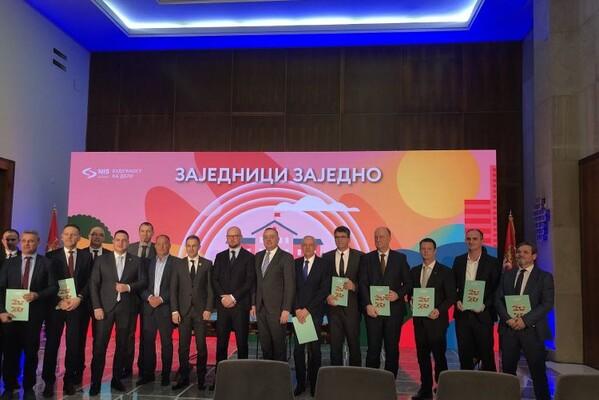 """""""Zajednici zajedno 2020"""": NIS ulaže 114,5 miliona dinara u škole 12 gradova i opština u Srbiji (FOTO)"""