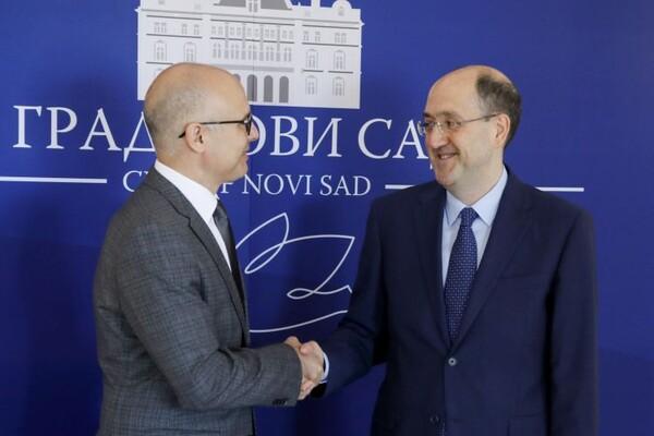 Ambasador Italije posetio Novi Sad