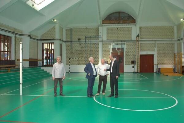 Obnovljena sala za fizičko u karlovačkoj osnovnoj školi