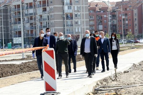Nastavljaju se radovi na produženju Bulevara Jovana Dučića