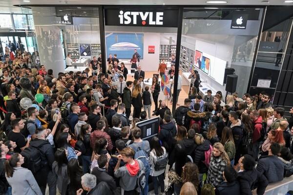 iStyle otvorio novu prodavnicu: Apple napokon u Novom Sadu, zvezde napravile šou (FOTO)