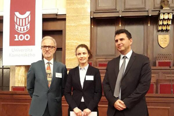 Jelena Vladić najbolja mlada naučnica iz Srbije