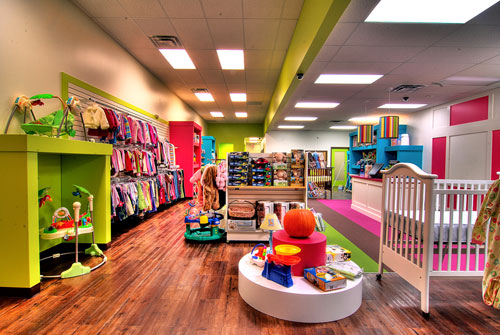 Celebrity baby clothes stores