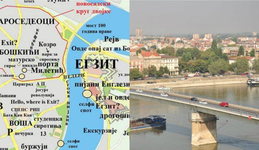 Fejsbuk Mapa Novosadskih Stereotipa Izazvala Oprecne Reakcije