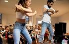 ZOKI I ANĐELA: Plesni par koji senzualnom baćatom hipnotiše grad (FOTO I VIDEO)