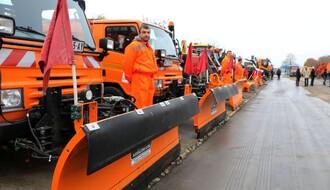 SMOTRA: Povećan broj vozila i alata Zimske službe grada (FOTO)