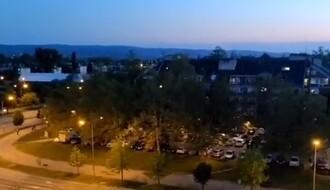 VIDEO: Bukom protiv diktature: U Novom Sadu bučnije nego prvog dana