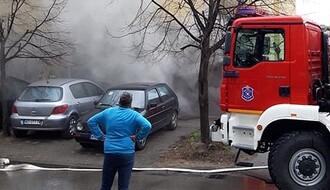 U podrumu u Gundulićevoj izbio požar, dežurne ekipe na terenu