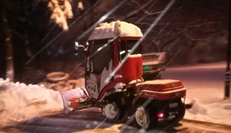 "Zimska služba ""Gradskog zelenila"" od noćas na terenu"