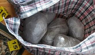 FOTO: U Novom Sadu zaplenjeno oko 11 kilograma marihuane