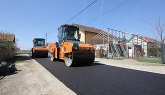 U planu asfaltiranje više ulica u Futogu, za sad završeno šest