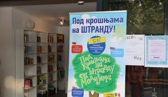 """Manifestacija """"Pod krošnjama na Štrandu"""" otvorena u biblioteci na gradskom kupalištu"""