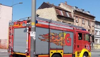Požar u Futoškoj ulici: Gorela šupa sa lako zapaljivim materijalom