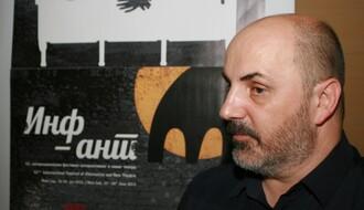 Kokan Mladenović na saslušanju u policiji
