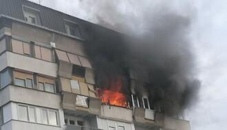 POŽAR U KULI NA LIMANU: Izgoreo stan na 13. spratu (FOTO)