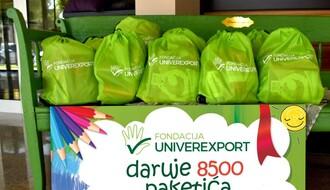 Đaci prvaci dobili 8.500 poklon paketa od Fondacije Univerexport