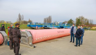 """""""Vode Vojvodine"""" dobile 1.200 metara mobilnih brana protiv poplava"""