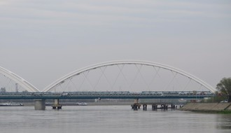 NS: Uspostavljen redovan železnički saobraćaj preko Žeželjevog mosta