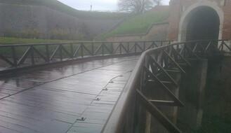 Bezbednije na Tvrđavu: Konačno obnovljen drveni most kod Leopoldove kapije