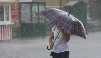 RHMZ UPOZORAVA: U ponedeljak posle podne moguće kratkotrajne vremenske nepogode