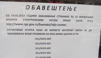 """Nastavlja se štrajk u RGZ, uredba o minimumu procesa rada """"nezakonita"""""""