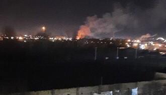 Veliki požar izbio u Partizanskoj ulici (FOTO i VIDEO)