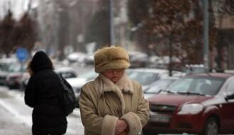 Vreme danas: Kiša i sneg, najviša dnevna u NS oko 4°C