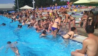 """Na bazenu SC """"Sajmište"""" rekreativni fitnes program"""
