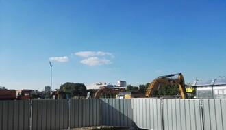 FOTO: Počeli radovi na izgradnji novog tržnog centra pored SPENS-a