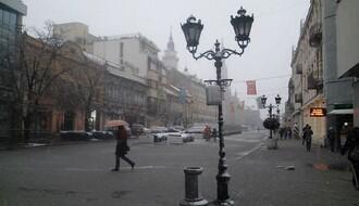 Oblačno s kišom i snegom, najviša dnevna u NS oko 3°C