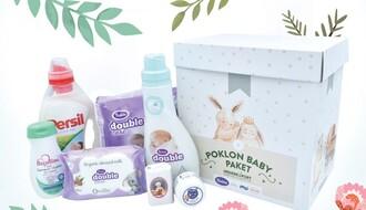 Prvi od rodbine stižu u babine: Poklon paketi Univerexporta za sve bebe Novog Sada