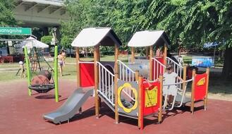 ŠTRAND: Novo dečije igralište i početak rada biblioteke