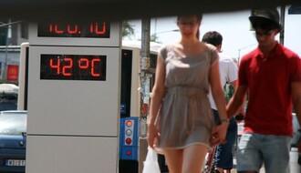 Upozorenje RHMZ: Danas vrelo, sutra i do 42 stepena sa mogućim pljuskovima